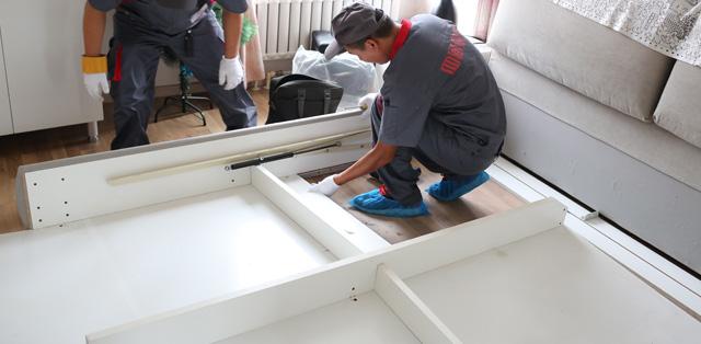 四通搬家公司家具拆裝服務
