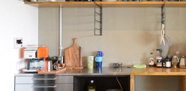搬家后廚房整理