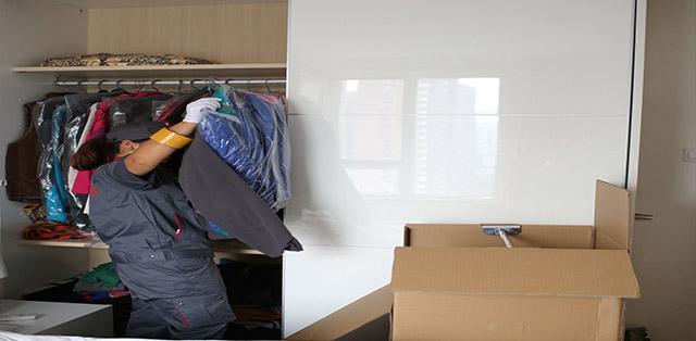 搬家衣服整理