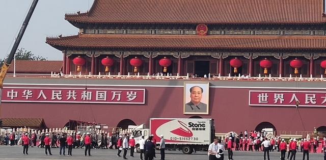 国庆70周年阅兵货运保障