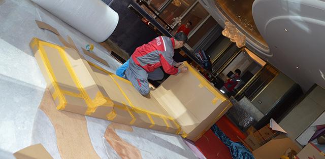 四通搬家公司有專業的衣柜拆裝服務