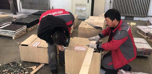 包装部队防弹材料